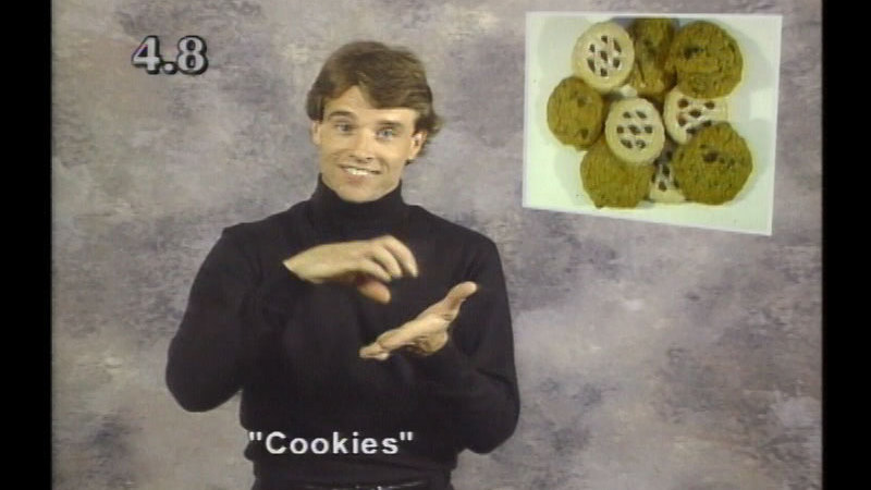 Image from: Beginning ASL Videocourse #4: Let's Go Food Shopping!