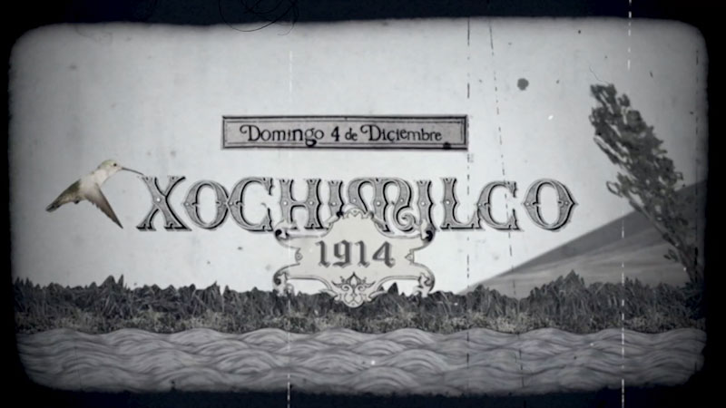 Still image from Xochimilco (Spanish)