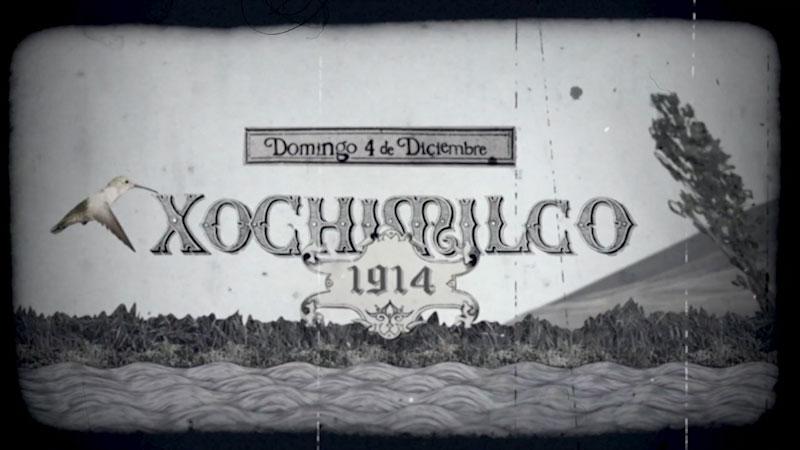 Still image from Xochimilco (Spanish)