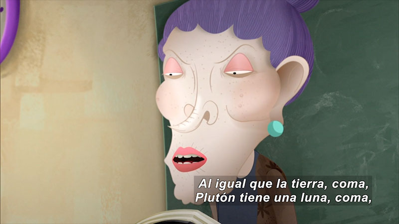 Still image from Dictation (Spanish)