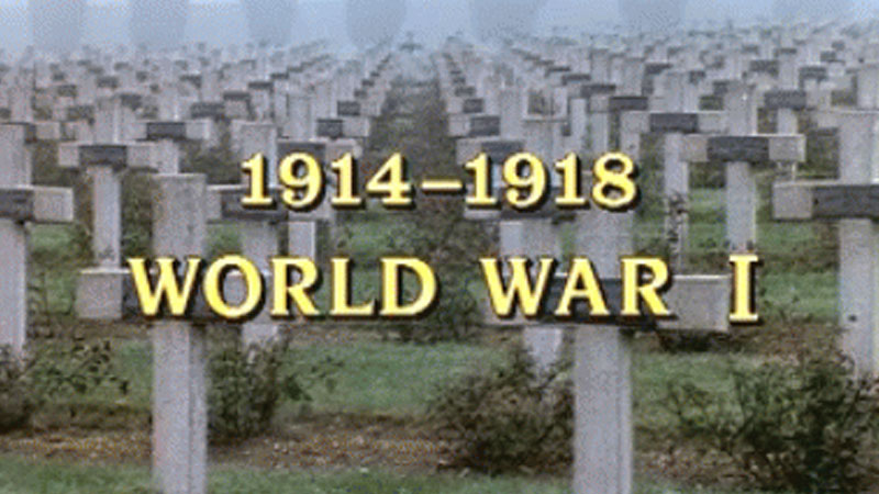 Still image from 1914 - 1918: World War I