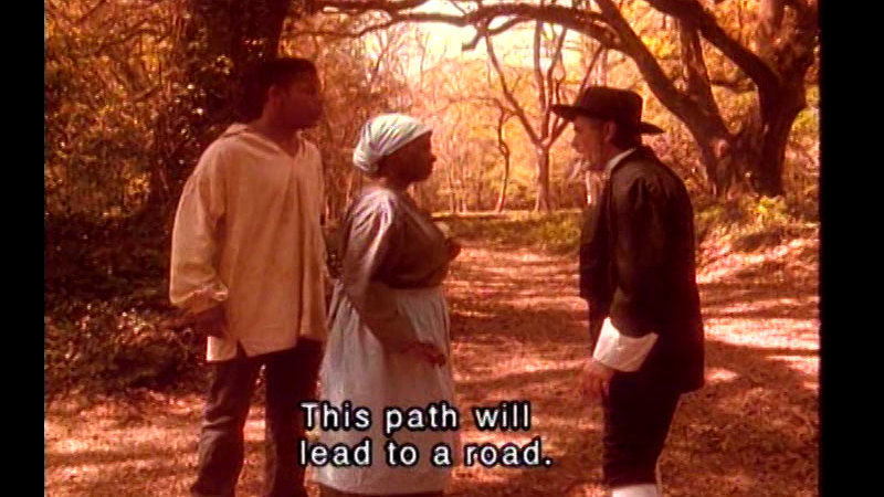 Still image from The Quest For Freedom: The Harriet Tubman Story