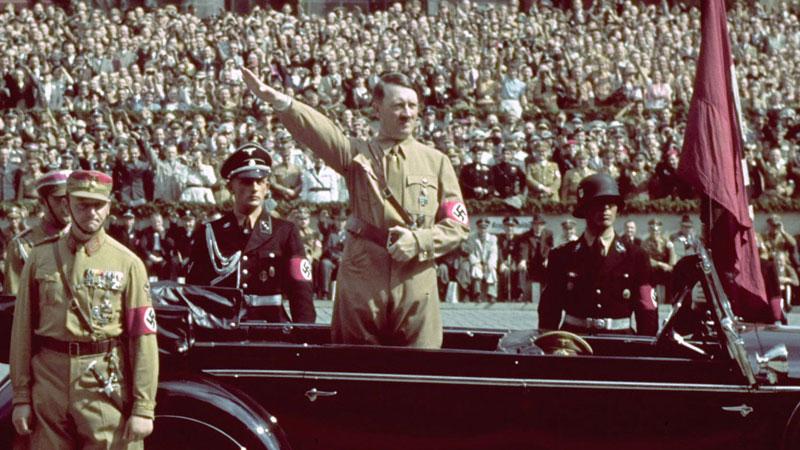 Still image from Hitler
