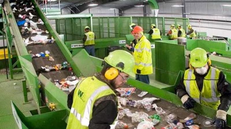 Still image from Waste