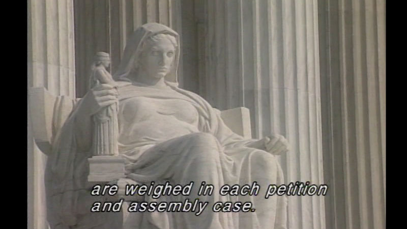 Still image from Amendment 1: Freedom Of Religion, Speech, Press, Assembly, And Petition