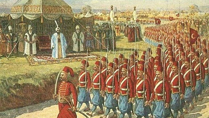 Still image from The Janissaries