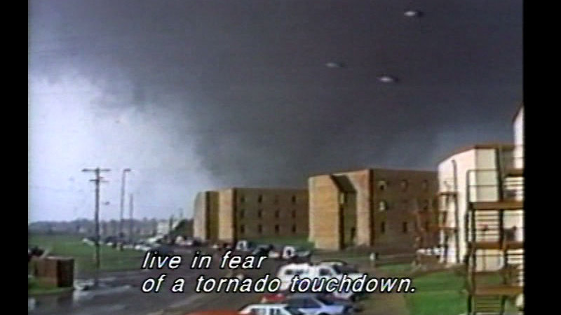 Still image from Tornado