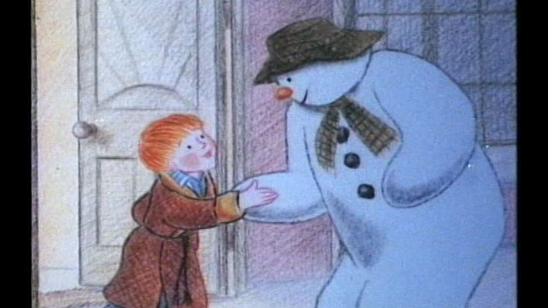 Still image from The Snowman
