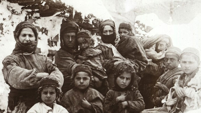 Still image from The Armenian Genocide
