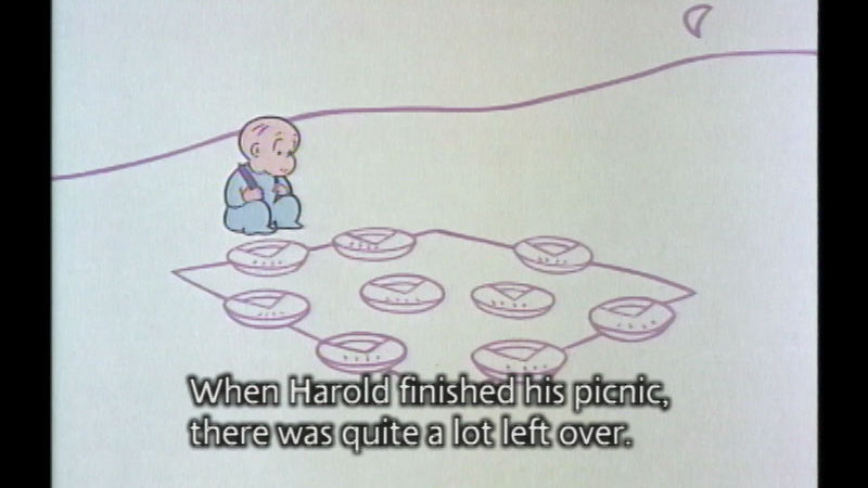 Still image from Harold And The Purple Crayon