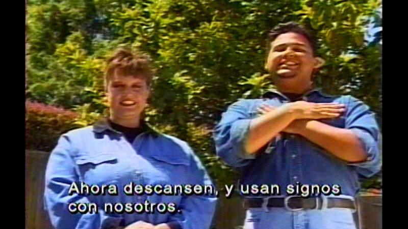 Still image from Signing Fiesta 3 (Spanish)