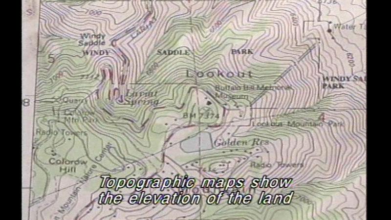 Still image from Basic Map Skills
