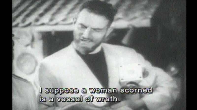 Still image from The Beachcomber