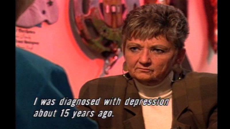 Still image from Depression