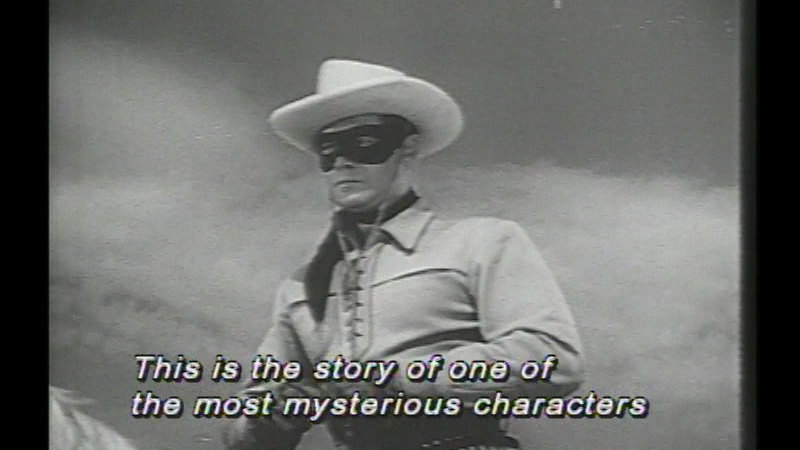 Still image from The Lone Ranger