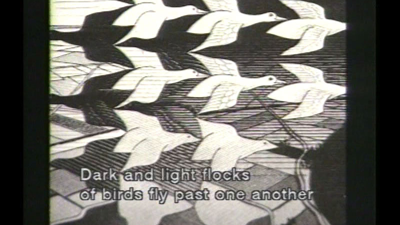 Still image from M.C. Escher: Master Of Graphic Arts