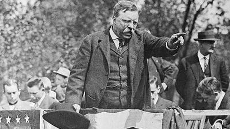 Still image from National Politics: Roosevelt, Taft And Wilson