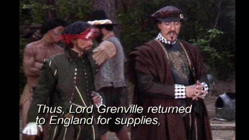 Still image from Roanoke: The Lost Colony