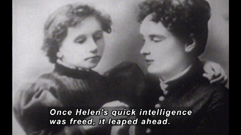 Still image from Helen Keller In Her Story