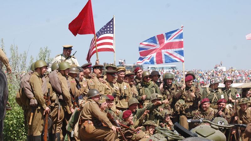 Still image from World War II: The Allies