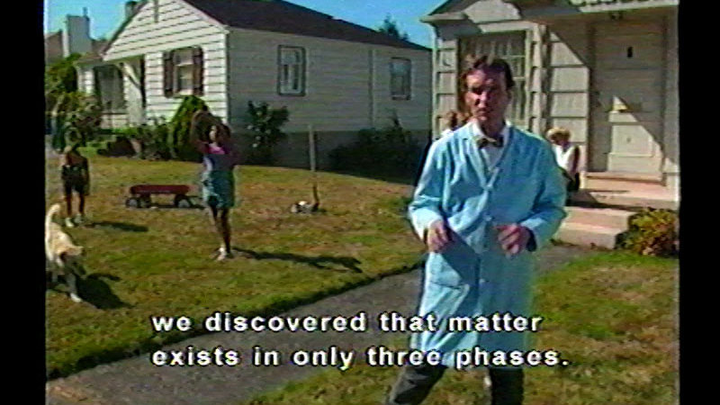 Still image from Bill Nye The Science Guy: Simple Experiments You Can Do At Home