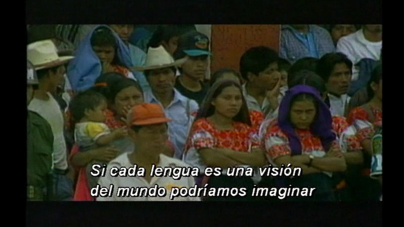 Still image from Biography Of The Spanish Language: Spanish In America (Spanish)