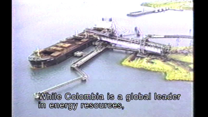 Still image from Colombia: The Gateway To South America