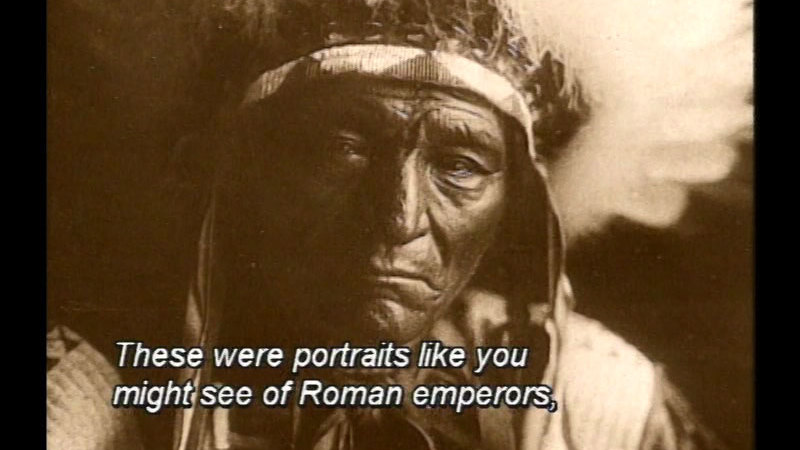 Still image from Coming To Light: Edward S. Curtis And The North American Indians