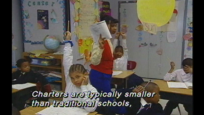 Still image from Education: The Right Choice