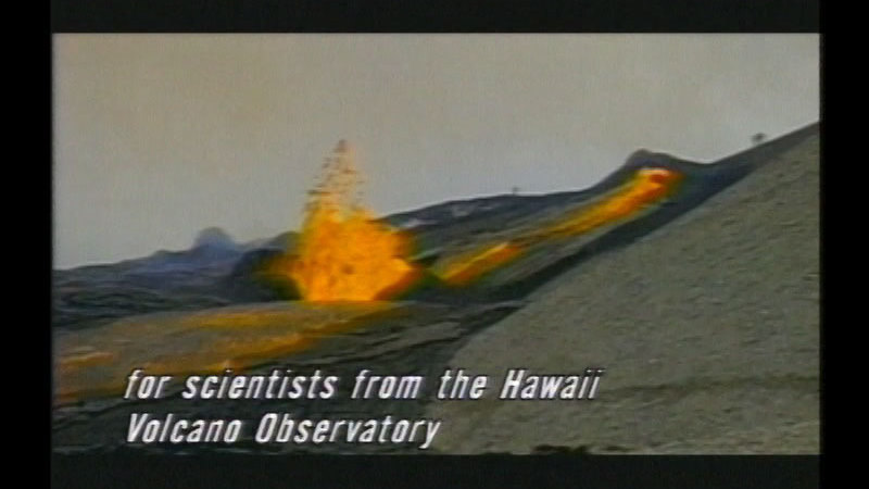 Still image from Explorers Of Volcanoes And Earthquakes