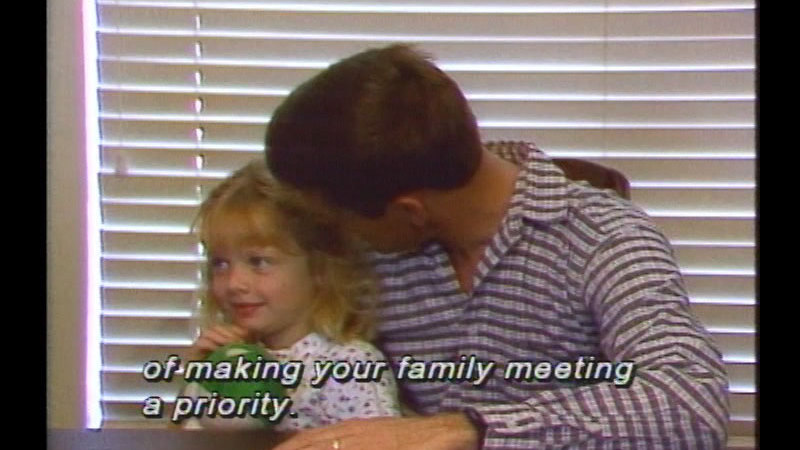 Still image from Families Growing Together: The Family Meeting