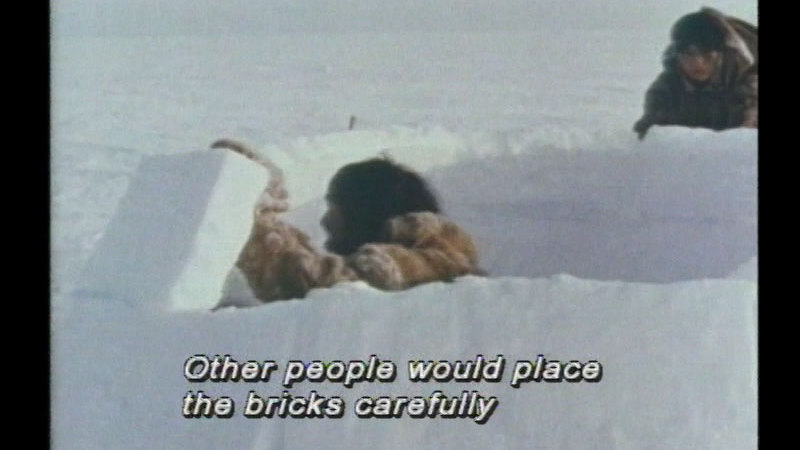 Still image from Inuit Shelter And Heat