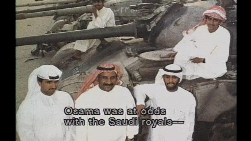 Still image from Osama Bin Laden