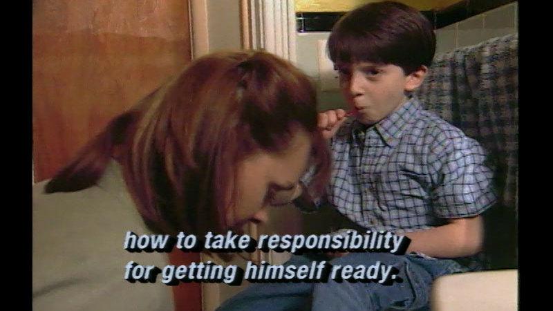 Still image from Raising Responsible Children