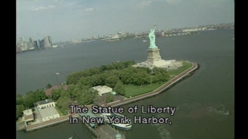 Still image from Images of Liberty