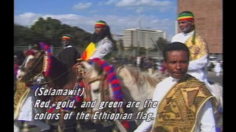 Still image from Africa's Child: Ethiopia:  Festival Of Fire