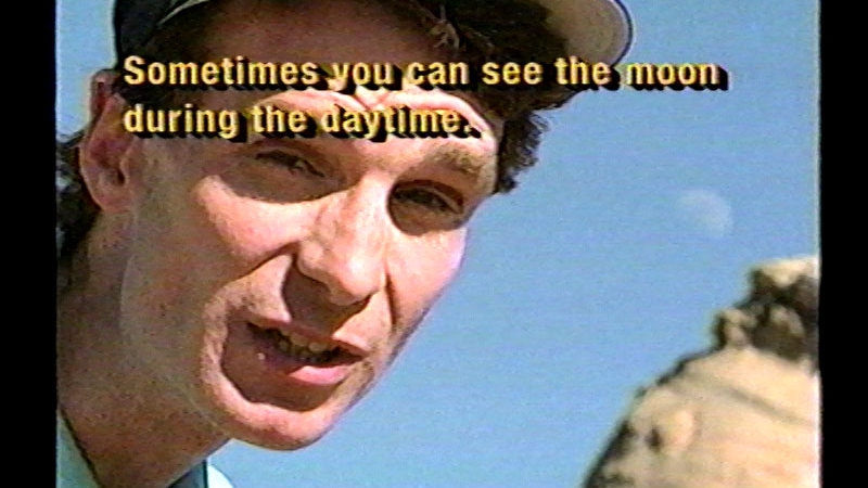 Still image from Bill Nye The Science Guy: The Moon