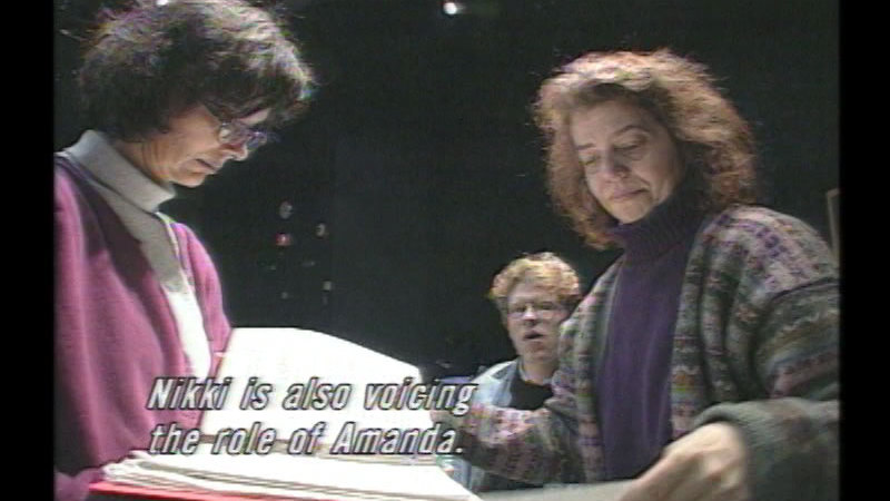 Still image from Voices In A Deaf Theater