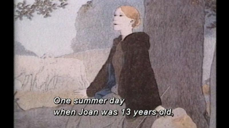Still image from Joan Of Arc
