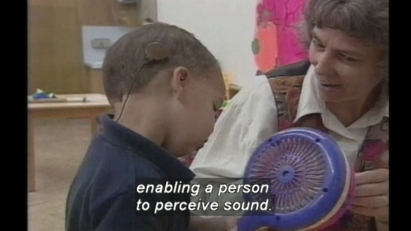 Still image from Technology And Deaf Culture