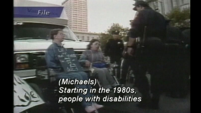 Still image from The Americans With Disabilities Act: Is It Working?