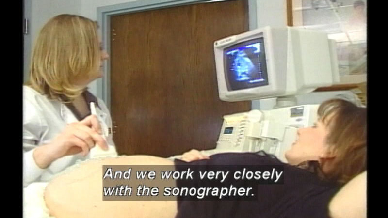 Still image from Radiologic Technology Careers: Sonography