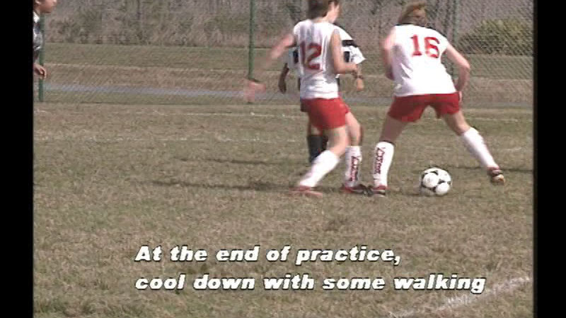 Still image from Coaching Safety