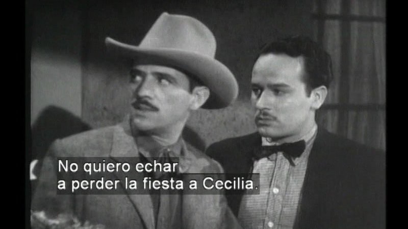 Still image from When The Heart Speaks (Spanish)