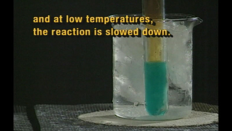 Still image from Carbon Dioxide / Chemical Reaction Rates