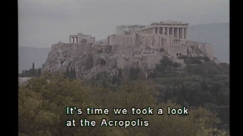 Still image from Athens & Ancient Greece