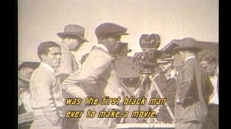 Still image from Race Movies: The Early History Of Black Cinema