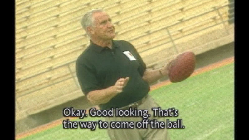 Still image from Don Shula: The Coach