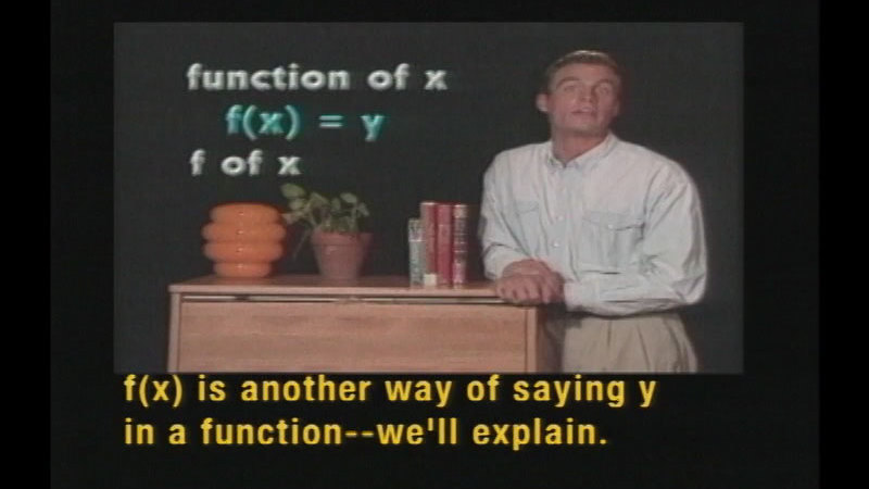 Still image from Algebra: The Basics