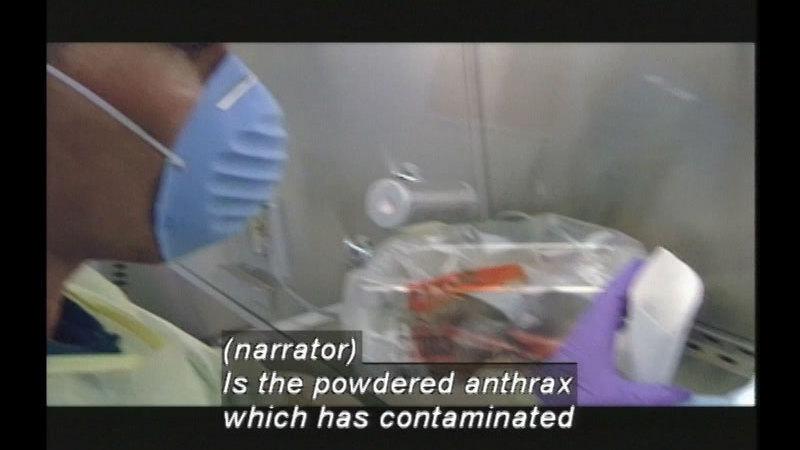 Still image from Bioterror